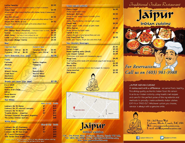 Jaipur India Cuisine