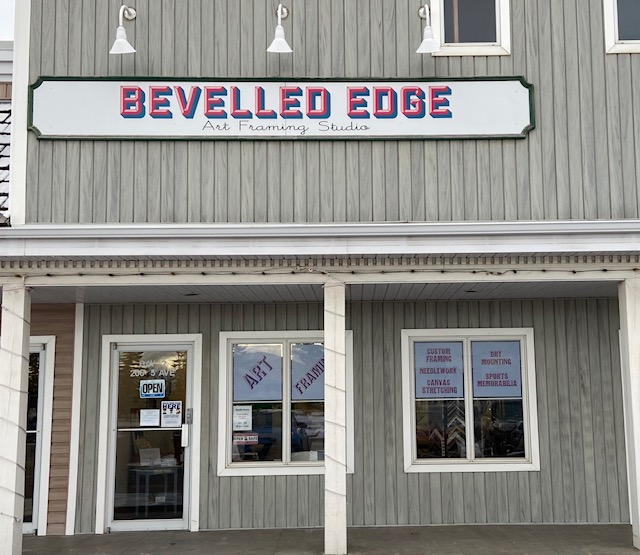 Bevelled Edge Art Framing Studio